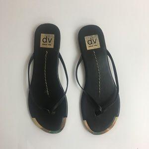Dolce vita flip flop sandals size 7 1/2
